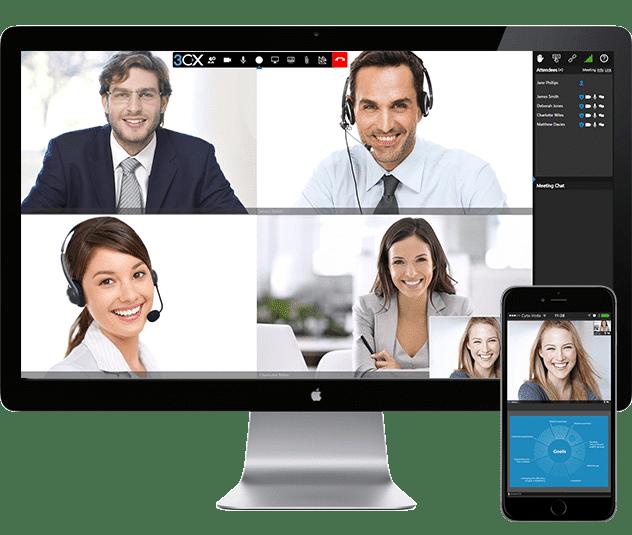 3CX Videokonferenz