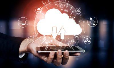 Smartphone Cloud Austausch